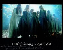 Kiran Shah Autograph Signed Photo - The Lord of the Rings